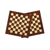 Falomir Tablero de ajedrez y Damas 40cm, Juego de Mesa, Clásicos (27909)