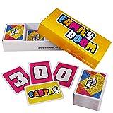 FAMILY BOOM - El juego de mesa para Toda la Familia - 300 cartas variadas y divertidas, Juego de cartas niños, juegos de mesa familiares divertidos - Juego de Cartas Regalos para Niños y Padres