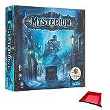Juego de mesa Mysterium. Incluye una pieza de juego plegable única y bandeja de dados con juego.