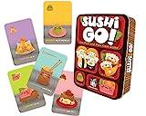 Juego de Mesa Sushi go, el Juego de Robar y Pasar, de Gameright