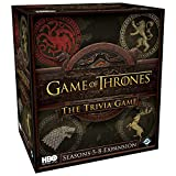 Fantasy Flight Games FFGHBO17 HBO Thrones Trivia Game: Seasons 5-8 Expansion, Various
