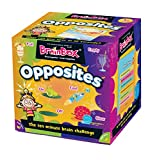 Green Board Games GRE91028 BrainBox Opuestos, Juego de Cartas