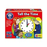 Orchard_Toys Tell The Time - Juego educativo para aprender la hora (importado de Reino Unido)