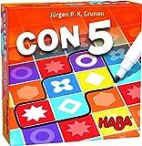 Haba-con 5-ESP Juego de Mesa CON5, Multicolor (H305286)