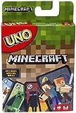 Mattel Games Juego de Cartas UNO Minecraft, Juego de Mesa para niños + 7 años (Mattel FPD61)