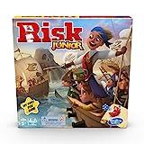 Hasbro Gaming Risk Junior Game, Juego de Mesa de Estrategia, introducción de un niño al Juego clásico de Riesgo para Edades de 5 años en adelante; Juego temático Pirata