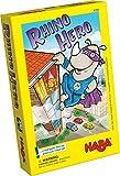 HABA 4789 Rhino Hero- A Juegos de apilamiento 3D para Mayores de 5 años
