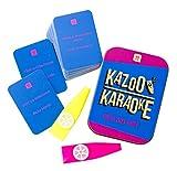 Talking Tables Navidad Kazoo Karaoke Party Game Music Trivia Tarjetas Familia Fun 2+ Jugadores