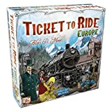 Days of Wonder Ticket to Ride Europe - Juego de mesa de estrategia sobre ferrocarriles (en inglés) - Idioma en Inglés