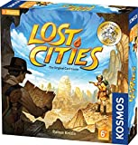 Thames & Kosmos 691821 691822 Lost Cities: The Card Discover The Ancient Civilizations   Strategic Game, 2 Players   Ages 10+  