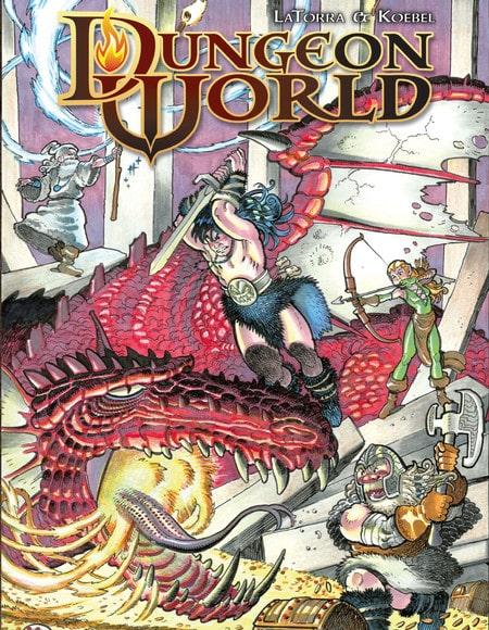 juego de rol dungeon world