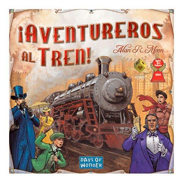 Portada del Juego de Mesa de Estrategia Aventureros al Tren