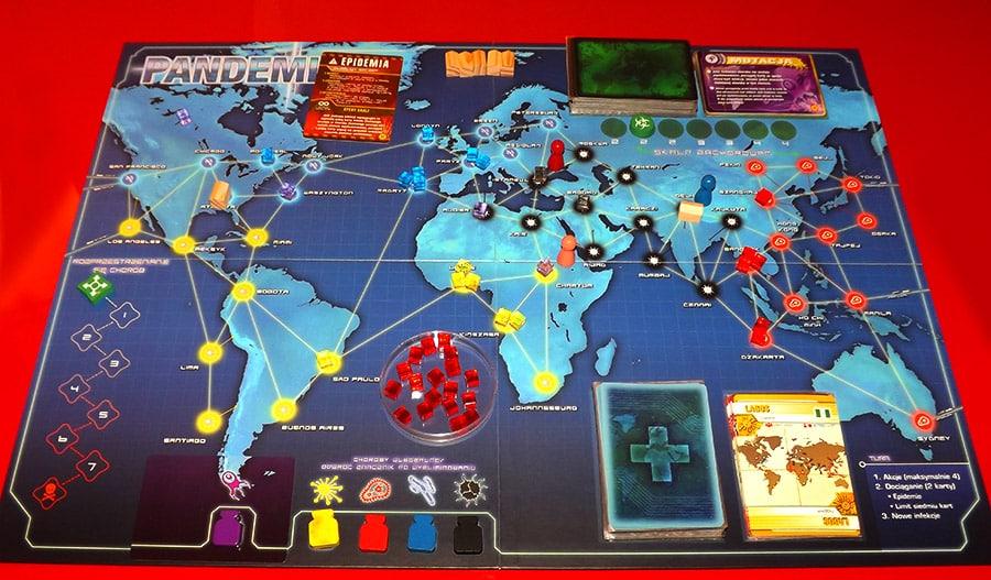 Tablero de Pandemic Legacy