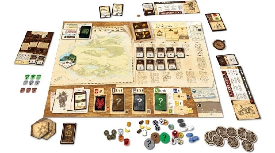 Robinson Crusoe: Aventuras en la Isla Maldilta Juego de Mesa de Estrategia y Tablero