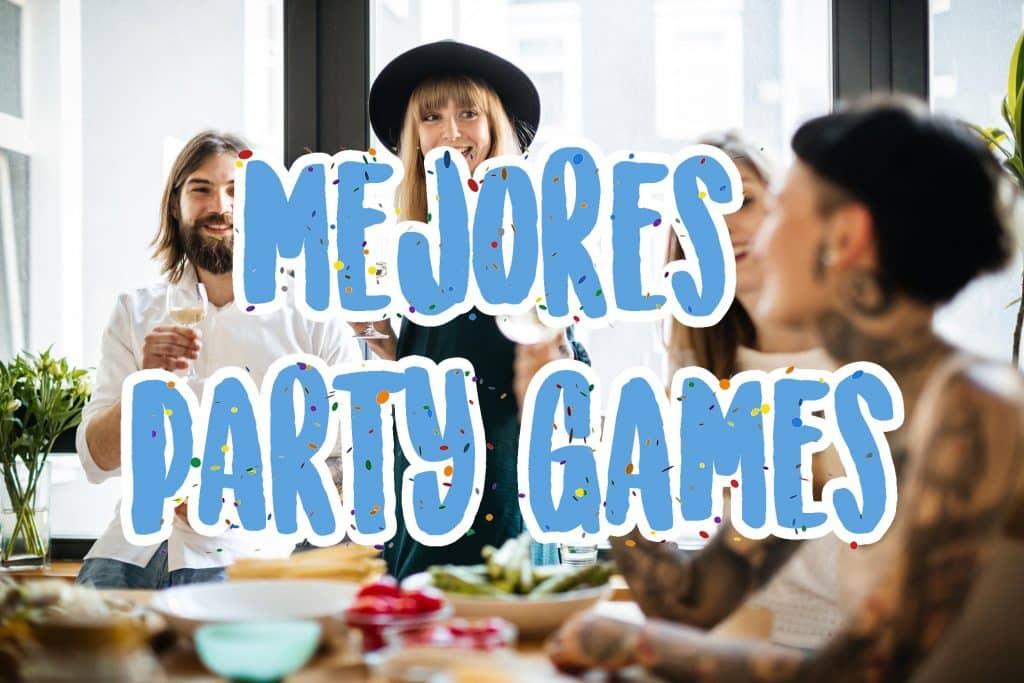 los mejores juegos tematica party games