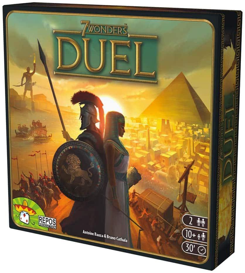 juego de mesa 7Wonders: Duel