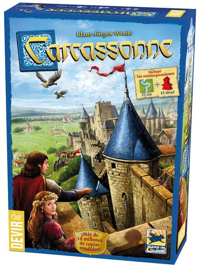 Carcassone  board game