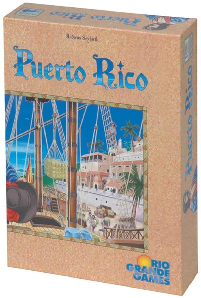 El juego de mesa Puerto Rico