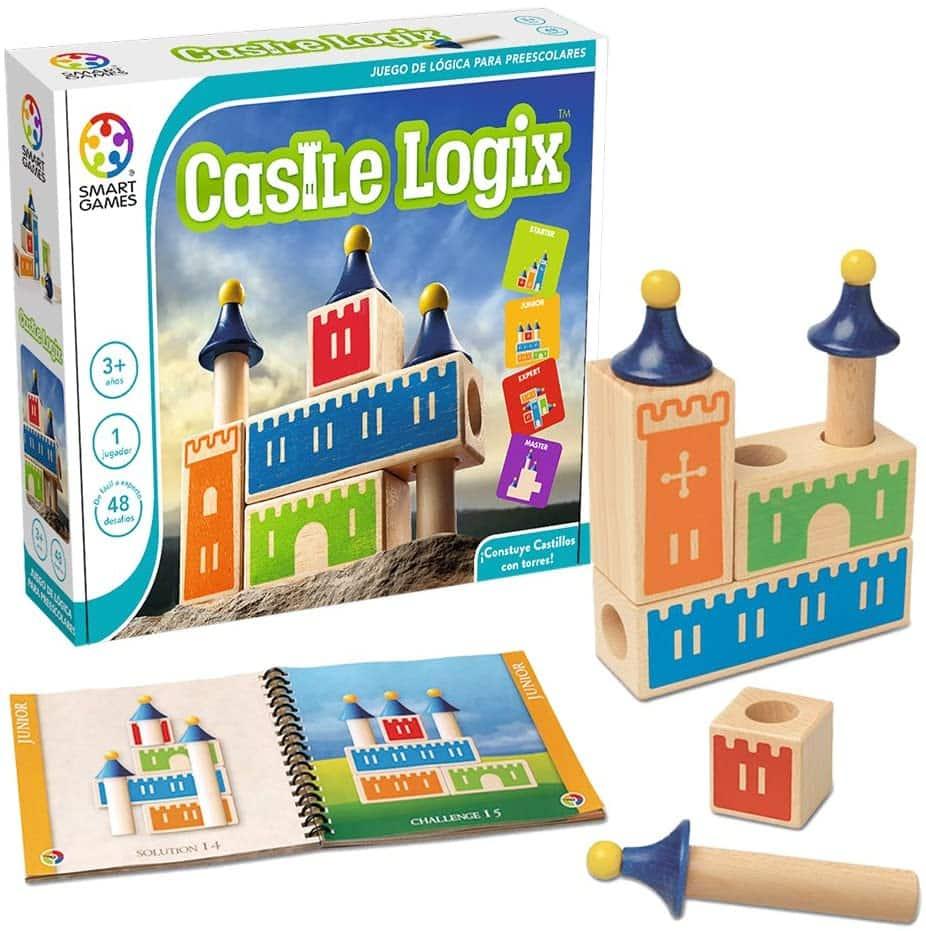 juego de mesa de construcción Castle Logix
