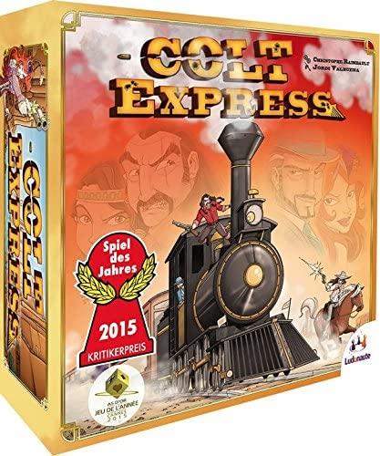caja del juego de mesa Colt Express