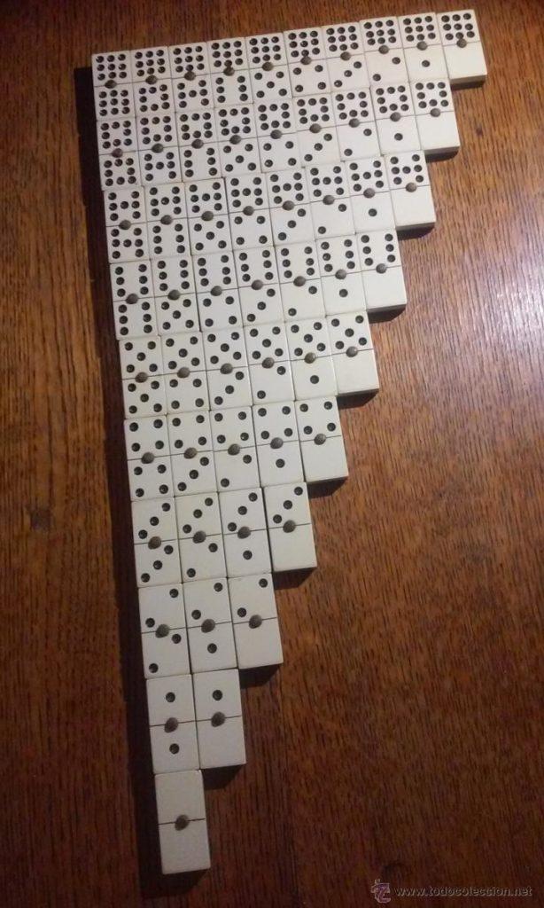 reglas del dominó: puntuación