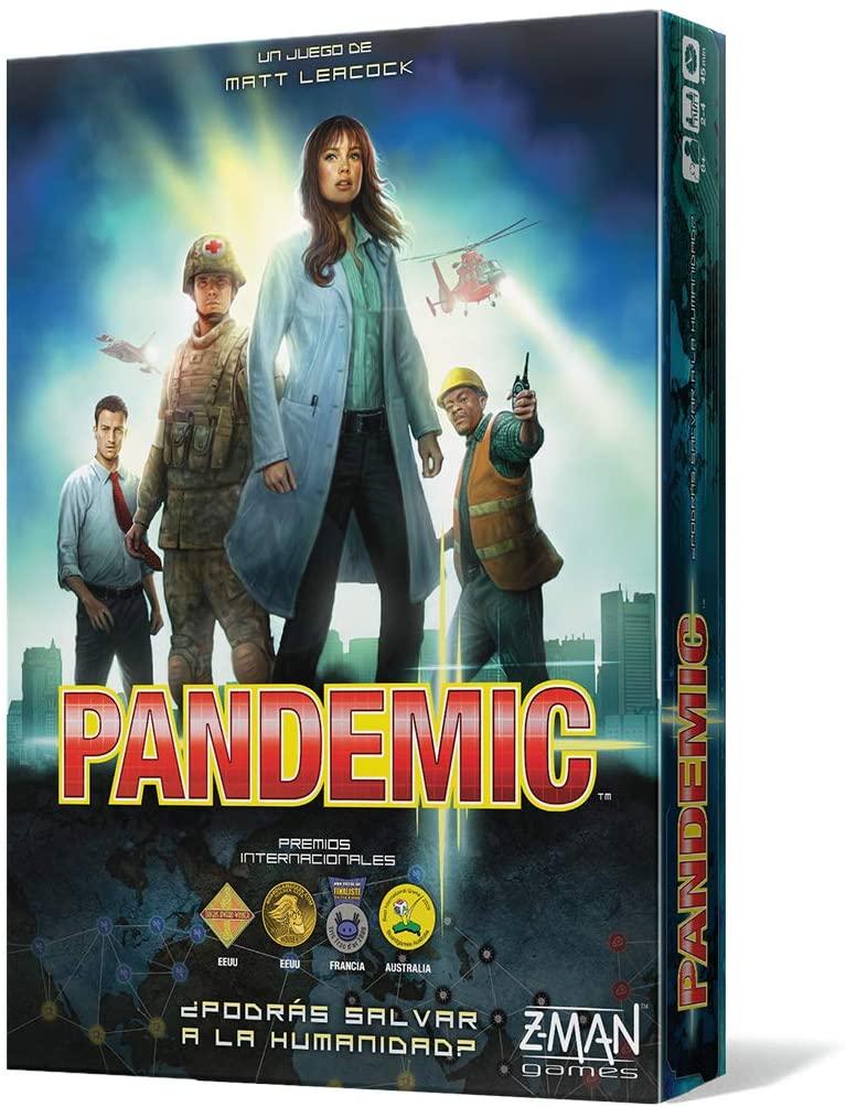 "Juego de mesa cooperativo ""Pandemic"""