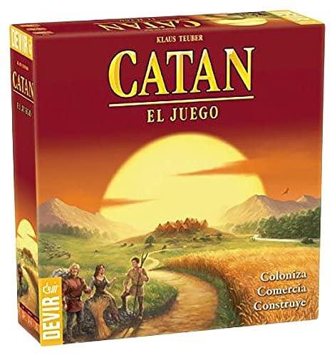 """Clásico de los juegos de mesa """"Catan"""""""