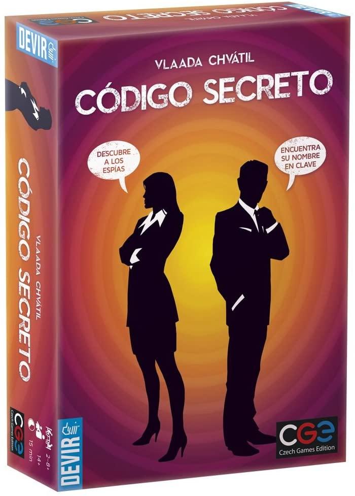 "Juego de mesa de espías ""Código secreto"""
