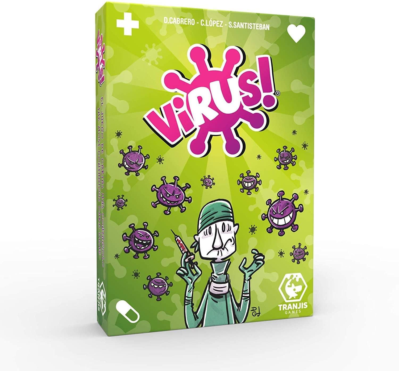 """Juego de mesa de cartas """"Virus!"""""""