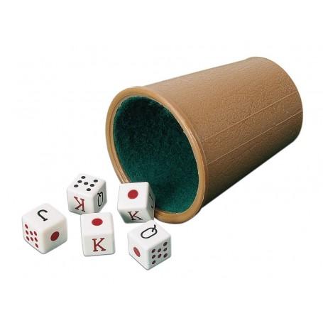 reglas del póker de dados